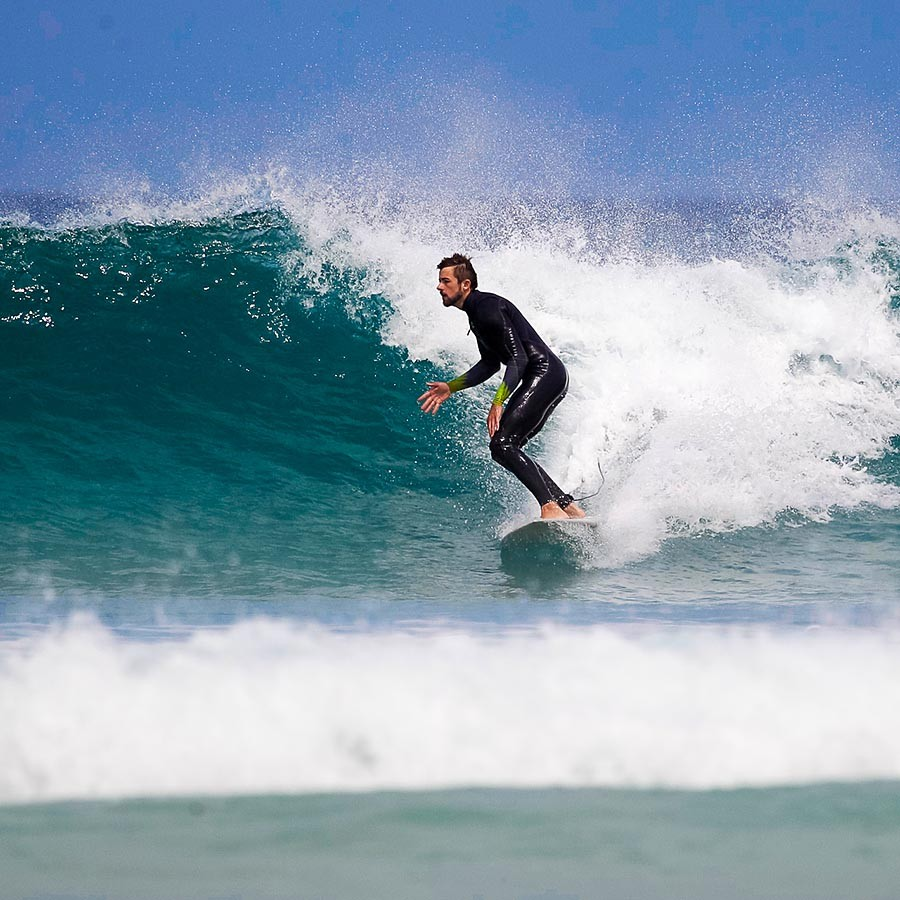 Surf Bottom Turn