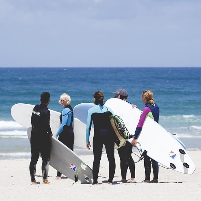 Frauen Surfkurs