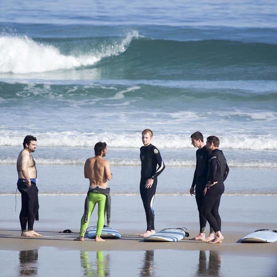 Advanced Surf Lesson Briefing