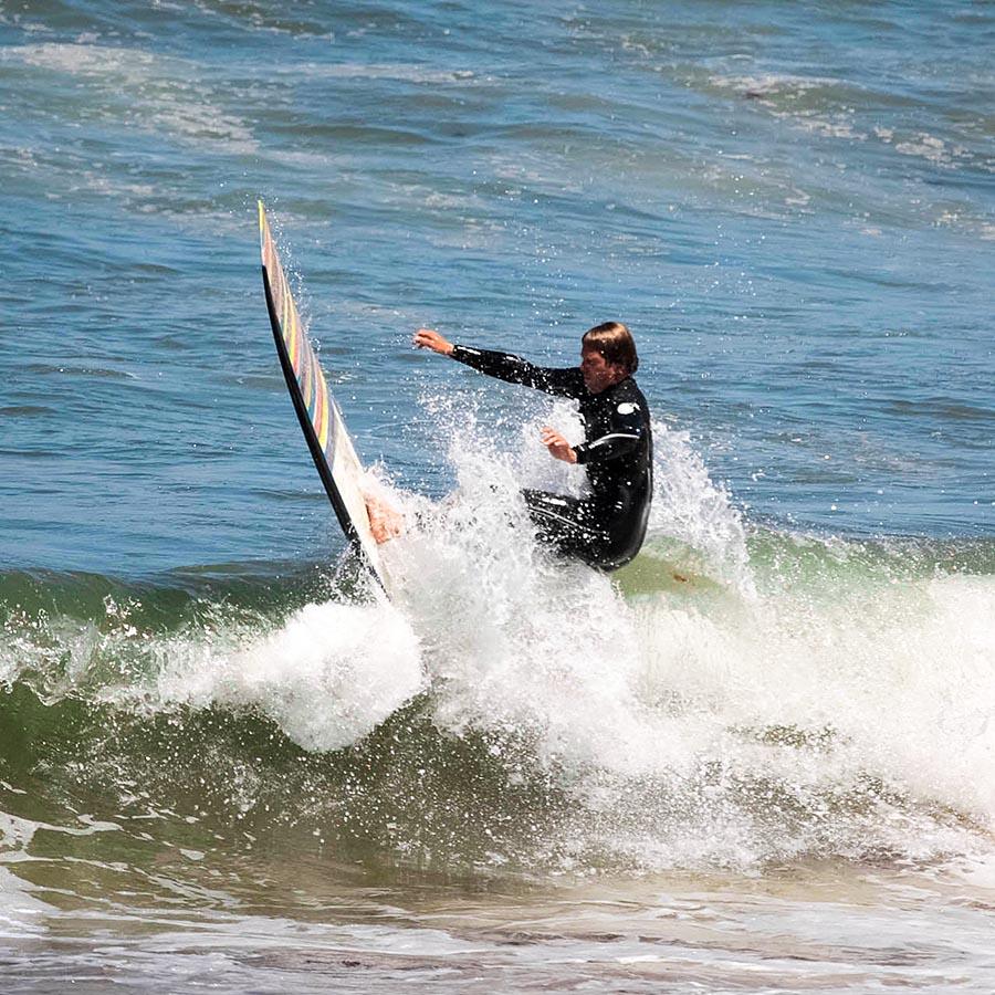 Radical Longboard Turn