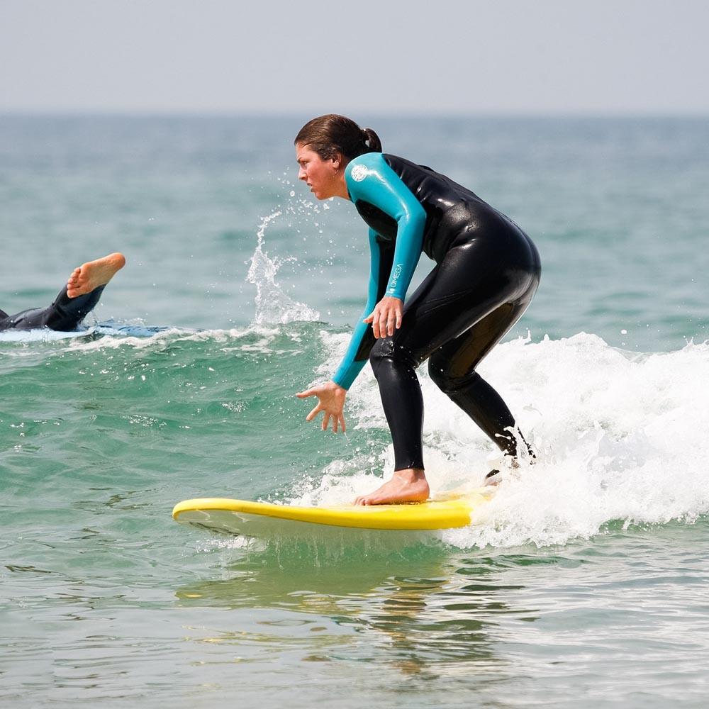 green wave surf beginner
