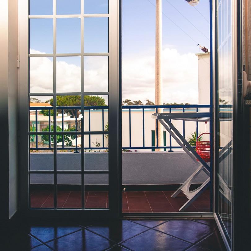 Balkon mit Meerblick in Baleal