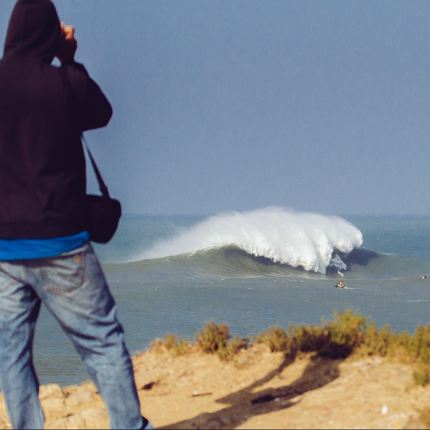 Peniche Big wave surf photo