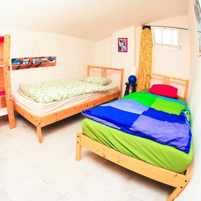 Zimmer mit zwei Betten Apartment 2