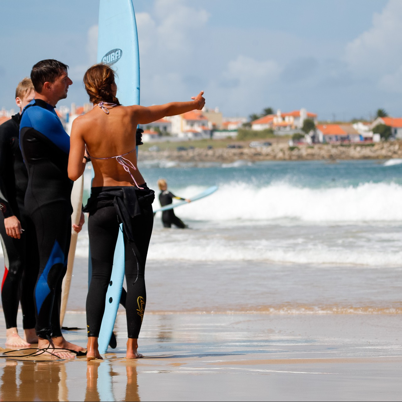 First taster surf lesson