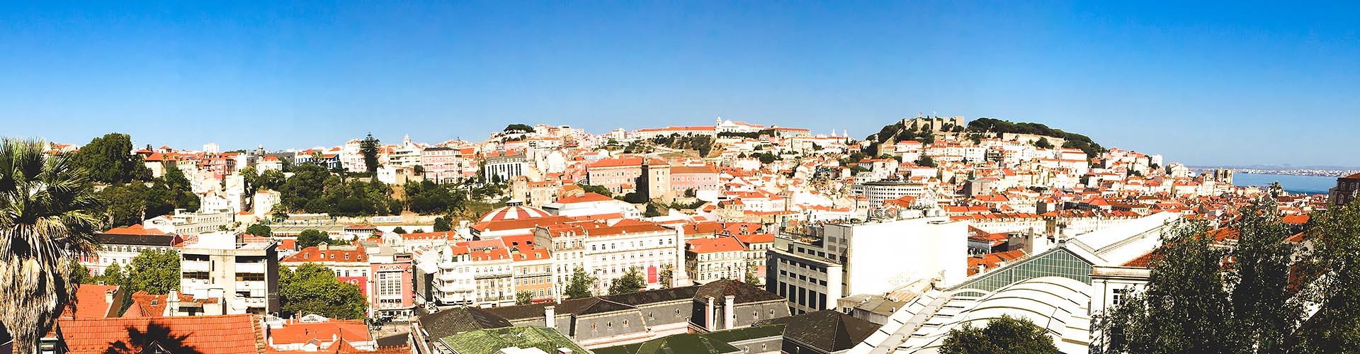 Panorama von Lissabon