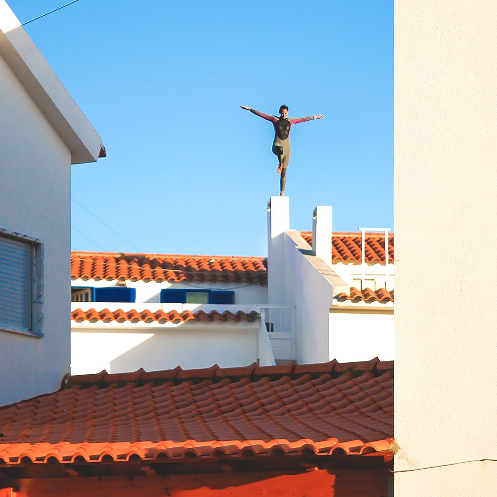 Yoga-Wellencheck vom Apartment aus