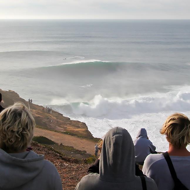 Big wave action Nazaré