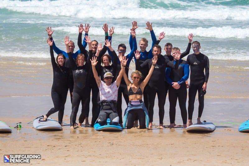 Surfgruppe Anfänger